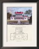 Chinese Residence Art by Richard Brown