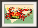 Mechanical Crab Prints
