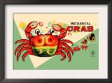 Mechanical Crab Prints