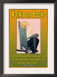 Kafka on Books Posters