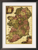 Ireland - Panoramic Map Prints