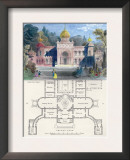Morisco-Spanish Palital Building Prints by Richard Brown