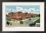 Bridgeport, Connecticut - Exterior View of the Remington Arms, UMC Posters