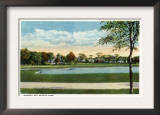 Bridgeport, Connecticut - Seaside Park View of Mirror Lake Posters