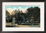 Binghamton, New York - Ross Park Entrance View Prints