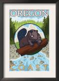 Beaver & River, Oregon Coast Prints
