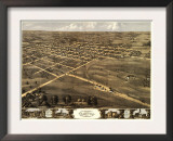 Palmyra, Missouri - Panoramic Map Prints