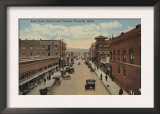 Pocatello, ID - View of E. Center St. from Viaduct Prints
