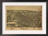 Conneaut, Ohio - Panoramic Map Posters