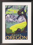 Beaver Family, Mosier, Oregon Posters