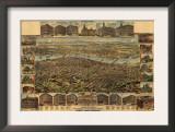 Oregon - Map of Portland Prints