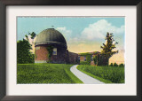 Middletown, Connecticut - Exterior View of Van Vleck Observatory, Wesleyan U Prints