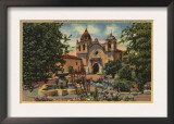 Carmel, CA - Mission San Carlos de Borromeo de Monterey Posters
