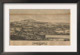 Blue Hill, Maine - Panoramic Map Prints