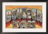 Nevada - Boulder Dam Poster
