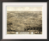 Chillicothe, Missouri - Panoramic Map Posters
