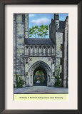 New Haven, Connecticut - Yale University Gateway to Branford College Court View Poster