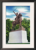 Manchester, New Hampshire - Gen John Stark Statue View Poster