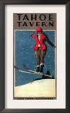 Lake Tahoe, California - Tahoe Tavern Promo Poster Prints