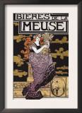 Paris, France - Bieres de la Meuse Promotional Poster Poster
