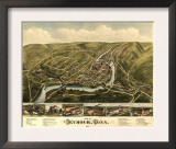 Seymour, Connecticut - Panoramic Map Prints