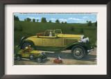 South Bend, Indiana - Largest Car in World, Studebaker Proving Grounds Prints