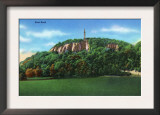 New Haven, Connecticut - View of East Rock Print