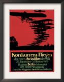 Berlin, Germany - Konkurrenz-Fliegen Airfield Promotional Poster Poster