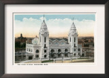 Worcester, Massachusetts - Exterior View of Union Station Prints