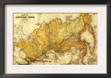 Russia - Panoramic Map Posters