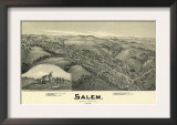 Salem, West Virginia - Panoramic Map Prints