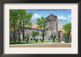 New Haven, Connecticut - Yale University Payne Whitney Gym Exterior View Prints