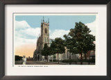 Worcester, Massachusetts - Exterior View of St. Paul's Church Prints