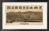 Ogden, Utah - Panoramic Map Posters