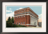 Worcester, Massachusetts - Exterior View of the Masonic Temple Posters