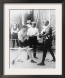 Boxers Marty Cutler and Jack Johnson Photograph Prints