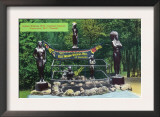 Vancouver, Canada - Capilano Canyon Indian Wishing Well View Print
