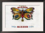 Buzzer Cigar Box Label Prints