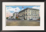 Yakima, Washington - Exterior View of Federal Bldg, Capitol Theatre Prints