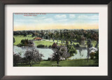Worcester, Massachusetts - View of Green Hill Park Posters