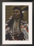 Northwest Indians - Chief Joseph of the Nez Perces Tribe Prints