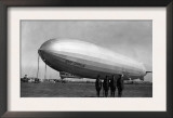 Close-Up Graf Zeppelin Blimp View Posters