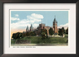 Worcester, Massachusetts - Campus View of Holy Cross College Prints