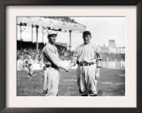 Joe Wood, Boston Red Sox & Jeff Tesreau, NY Giants, Baseball Photo - Boston, MA Prints