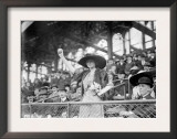 Genevieve Ebbets at Ebbets Field, Brooklyn Dodgers, Baseball Photo - New York, NY Prints