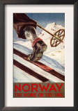 Norway - The Home of Skiing Art