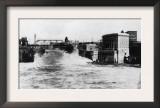 Exterior View of Washington Water Power Plant - Spokane, WA Poster
