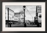 Street Scene, View of Masonic Temple - Yakima, WA Poster