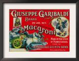 Giuseppe Garibaldi Macaroni Label - Philadelphia, PA Prints