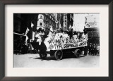 Labor Day Parade Float Photograph - New York, NY Print